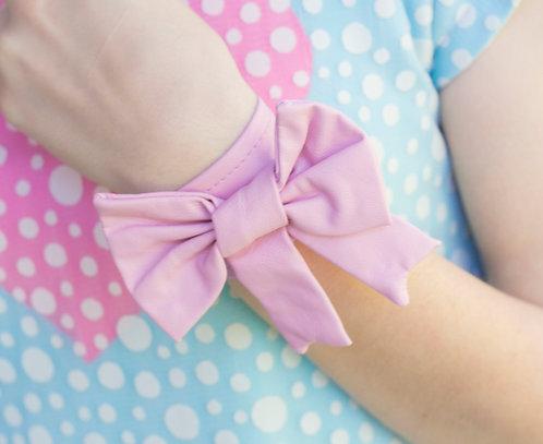 Pompoji's Pink Charming Bow Bracelet