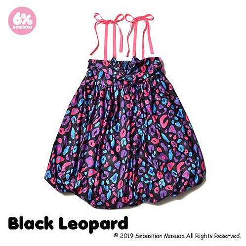 6%DOKIDOKI - Colorful Rebellion/Animal Babydoll Dress