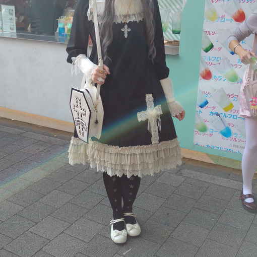 A lolita from America, but lives in Japan right now to teach English.