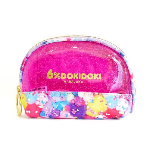 6%DOKIDOKI - Colorful Rebellion-Pastel Shell Pouch