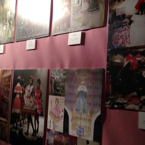 Early timeline. Included a photo of the first Angelic Pretty location, location opening in Paris,France, and first few fashion shows.