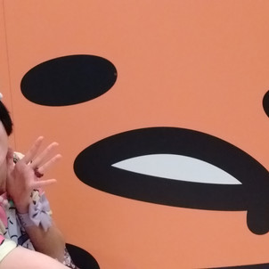 A very gude day at Sanrio Puroland!