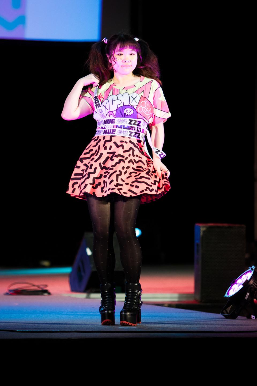 NUEZZZ x GHOST GiRL GOODS Collab Fashion Show at Tekko 2019 J Fashion Japanese Brand colorful MOGHO GiRLS Yamamoto Shigetomo Monster Girls