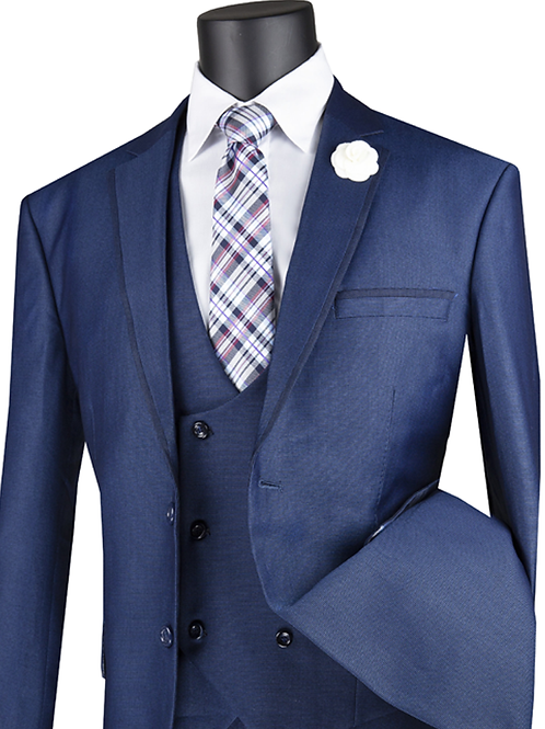 Modern Fit Men's 3pc Dress Suit
