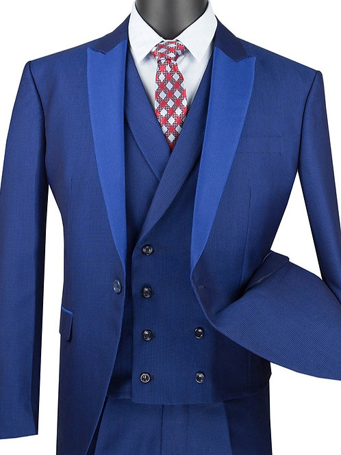 Mens Slim Fit 3PC Dress Suit