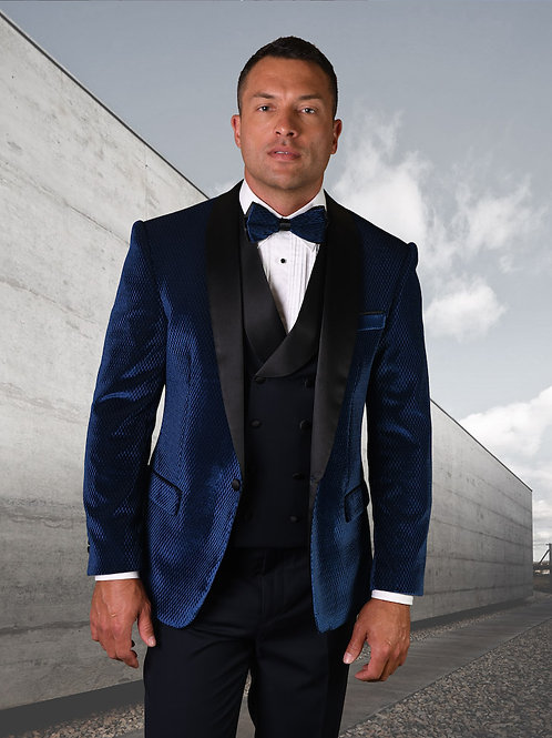 Men's 3PC Velvet Dress Suits