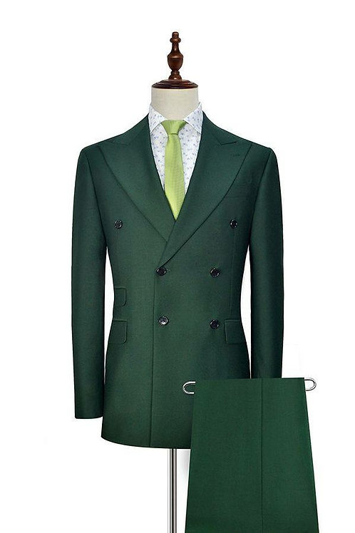 HULK GREEN with Wide Lapel