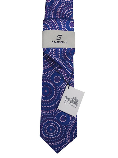 2PC WOVEN TIE AND HANKIE SE