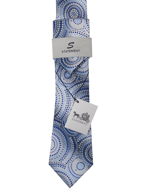 2PC WOVEN TIE AND HANKIE SET