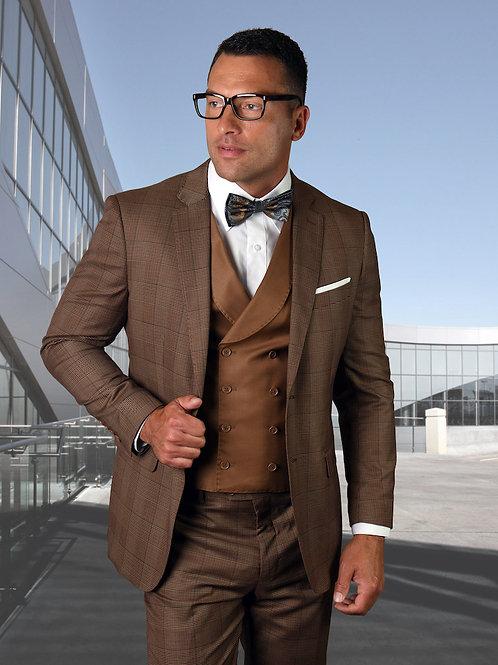 Men's 3PC Dress Suit with Lapel Vest