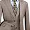 Thumbnail: Modern Fit Men's 3pc Dress Suit
