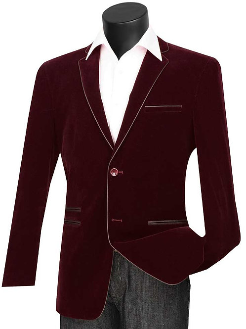 Men's Slim Fit Velvet Sports Coats