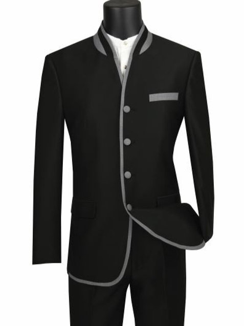 Mens Banded Collar Collection