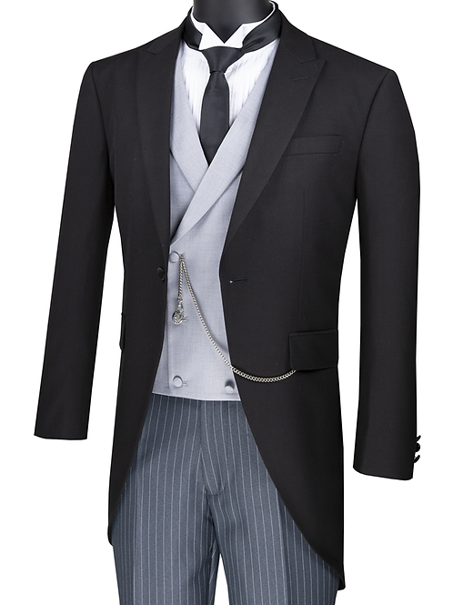 Men's Modern Fit Tuxedo with Tail