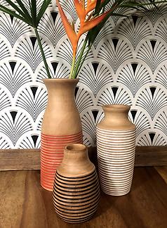 Vases manguier couleur M&M