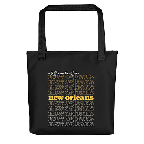 I Left My ❤︎ in New Orleans Tote Bag