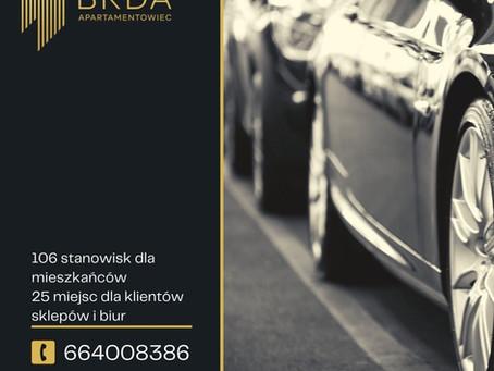 Parking w centrum Bydgoszcz