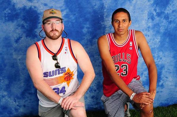 Rim and AB (basketball pose)