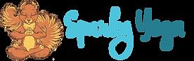 Spurky Yoga Logoblue.png
