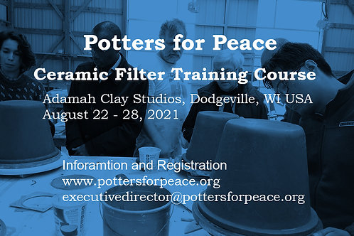 Ceramic Water Filter Course 2021