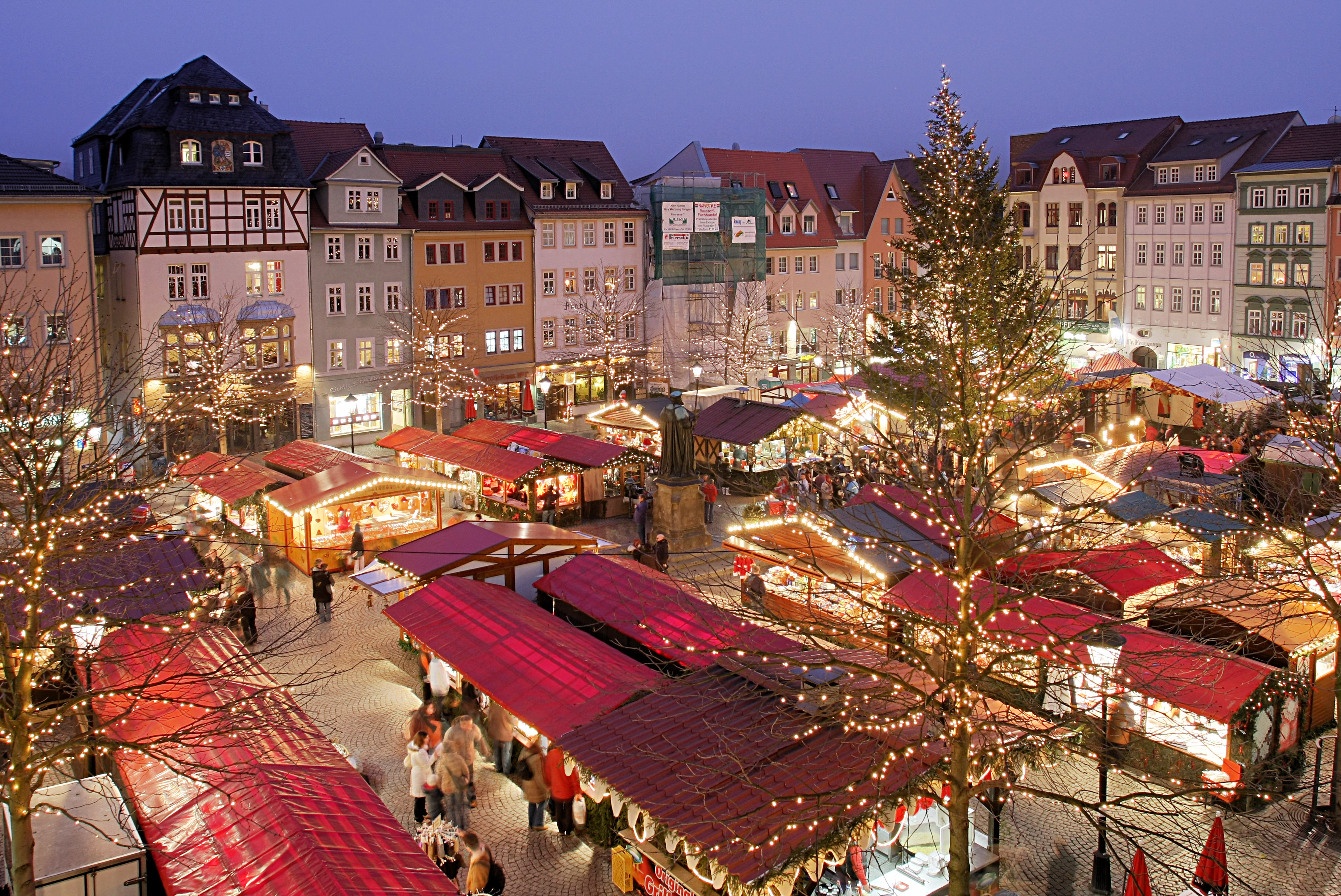 Christmas Market In Germany.Germany The Christmas Markets