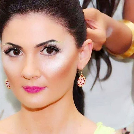Notting Hill Carnival Makeup By Reena Parmar ProArtist