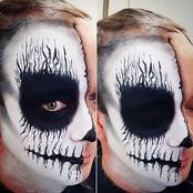 Skull Face By Reena Parmar ProArtist