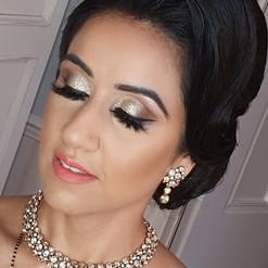 Reception Bride 💫_HMUA _reenaparmarproa