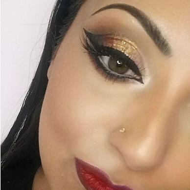 Bridal Glamour Eye Makeup
