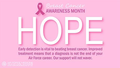 Breast Cancer Awareness - HOPE