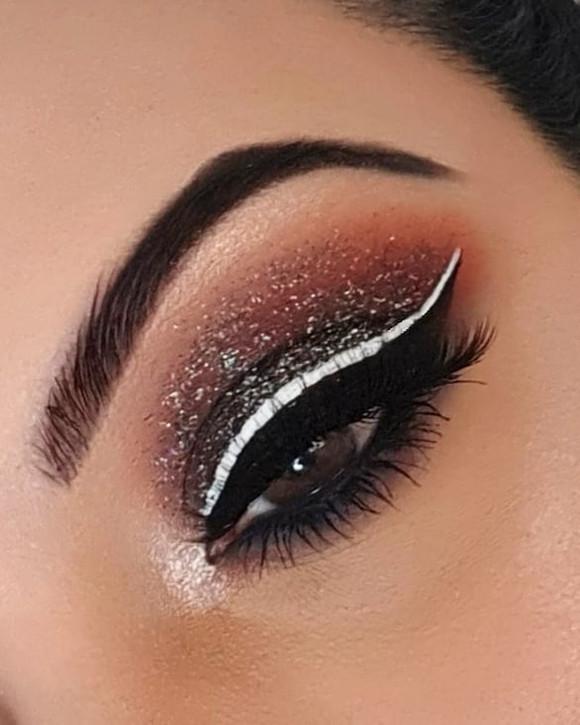 Graphite Glitter Glam ♡