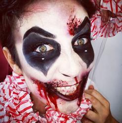 Crazy Clown By Reena Parmar ProArtist