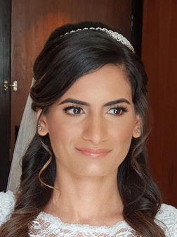 Close up of my Gorgeous Bride