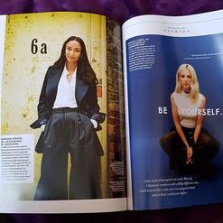 Glamour UK Magazine Photoshoot  By Reena Parmar ProArtist