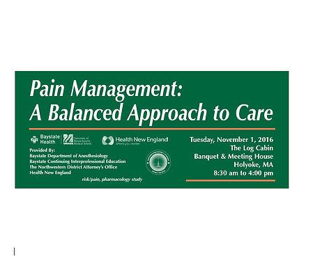 Baystate Health Pain Management Conferen