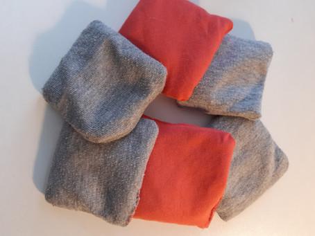 Fabriquez vos sacs de grains pour développer l'éveil et la sensori-motricité !