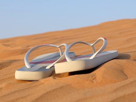 Prenez soin de vos pieds, laissez les tongs au placard cet été !