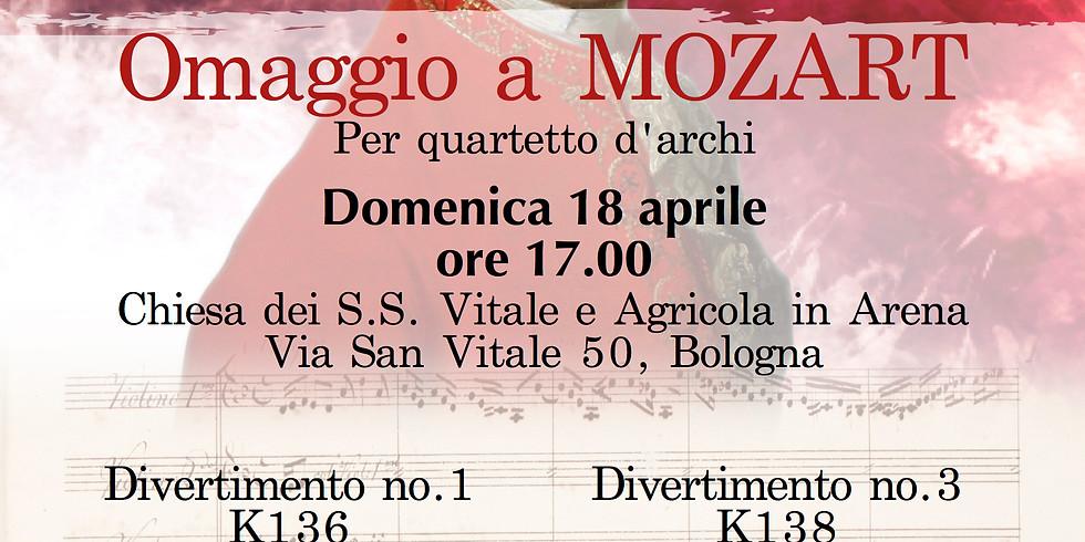Concerto Aperitivo - Omaggio a Mozart