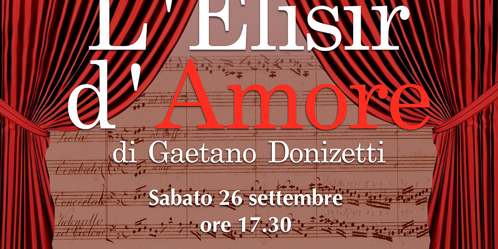 Musica a Palazzo - L'Elisir d'amore