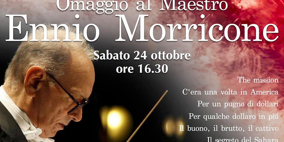 Musica a Palazzo - Concerto Aperitivo - Omaggio a Ennio Morricone ore 16.30