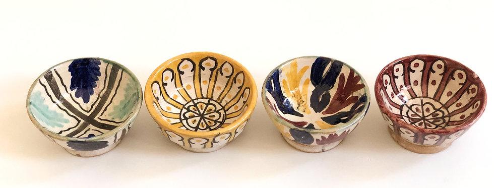 Mini Colorful Bowls - Set of 4
