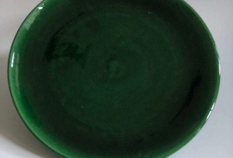 Large Green Plate