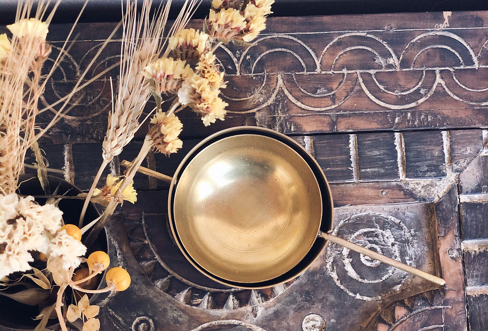 Handmade Brass Ashtray