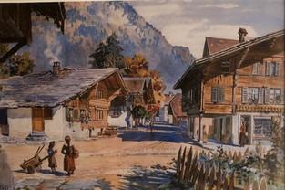 Swiss Chalet Built 1673