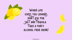 When life gives you lemons, don't ask for Tequila – Parhaimmat alkoholittomat sitruunajuomat