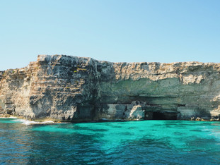 Island of Comino and Blue Lagoon
