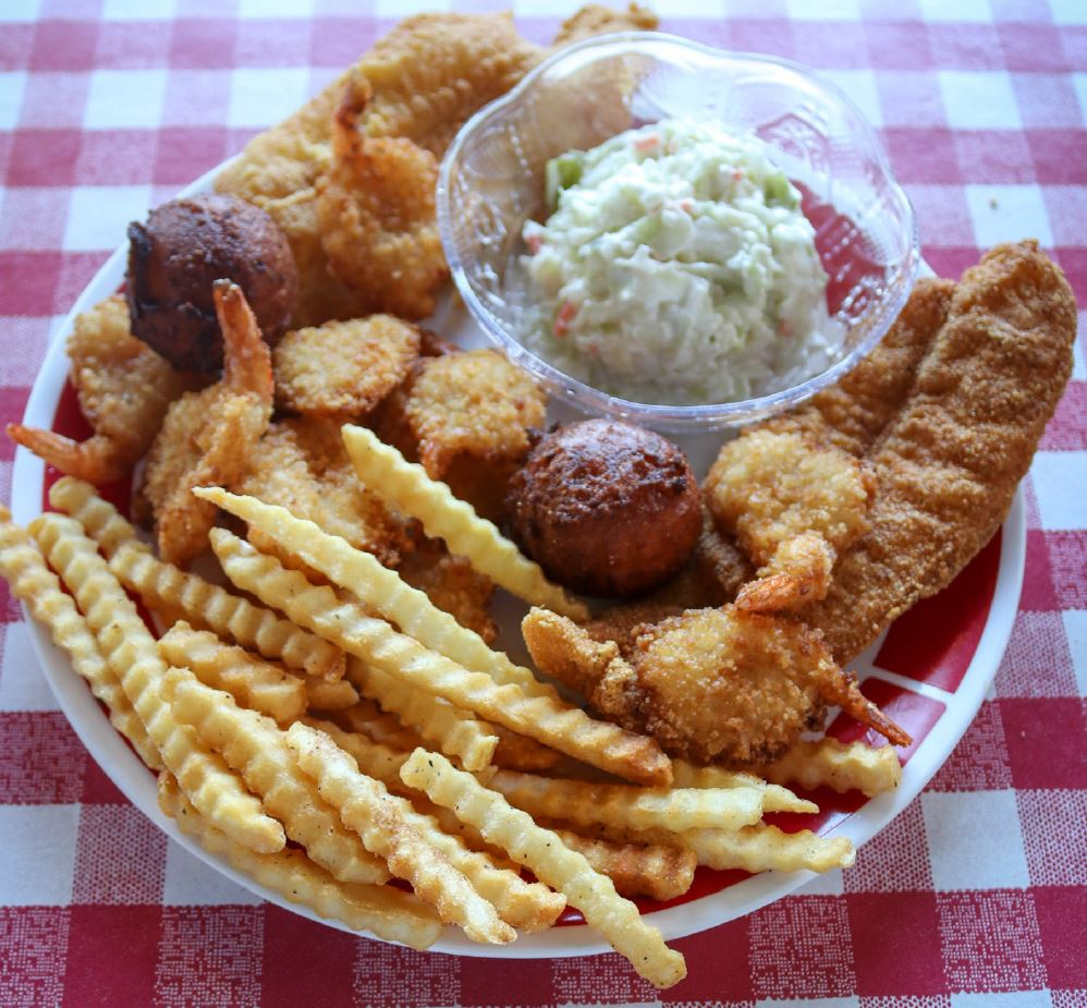shrimp n fish