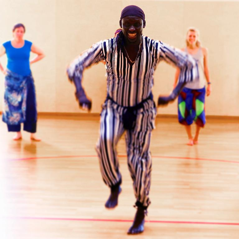 Tanzworkshop mit Nago Koité (Anfänger/Mittlere Erfahrung)