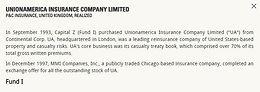 Unionamerica Insurance Company Limited