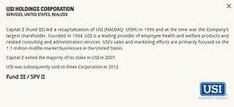 USI Holdings Corporation